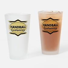 Handball Star stylized Drinking Glass