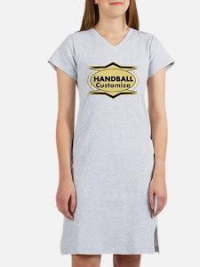 Handball Star stylized Women's Nightshirt