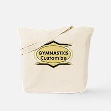 Gymnastics Star stylized Tote Bag