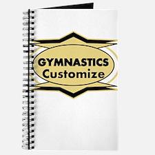 Gymnastics Star stylized Journal