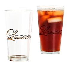 Gold Luann Drinking Glass