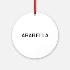 Arabella Digital Name Ornament (Round)