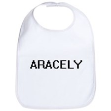 Aracely Digital Name Bib