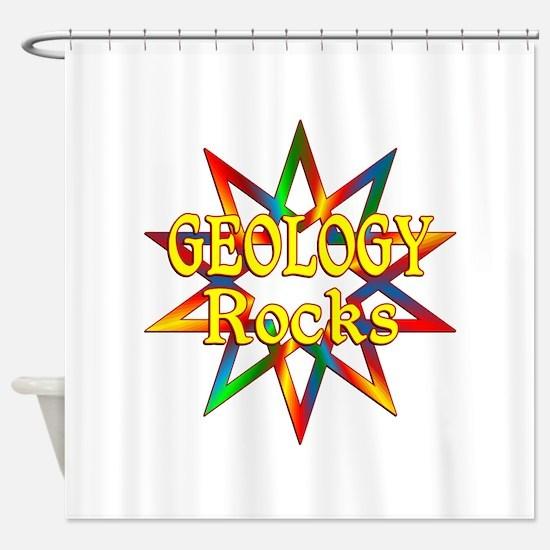 Geology Rocks Shower Curtain