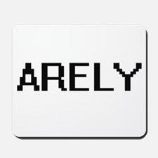 Arely Digital Name Mousepad