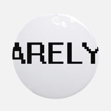 Arely Digital Name Ornament (Round)