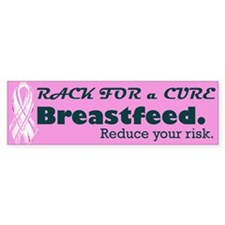 Rack for a Cure Bumper Bumper Sticker