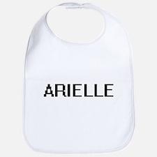 Arielle Digital Name Bib