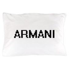 Armani Digital Name Pillow Case