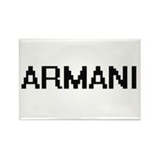 Armani Digital Name Magnets