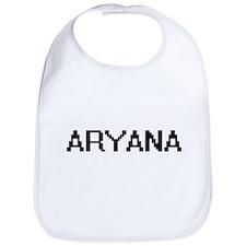 Aryana Digital Name Bib