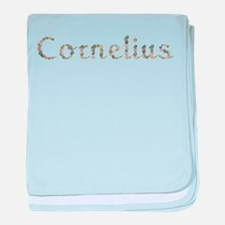 Cornelius Seashells baby blanket