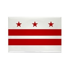 Washington D.C. Flag Magnets