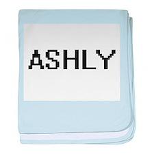 Ashly Digital Name baby blanket
