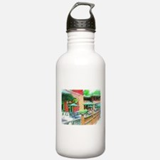 Outdoor Lunch Cafe Water Bottle