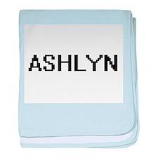 Ashlyn Digital Name baby blanket