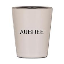 Aubree Digital Name Shot Glass