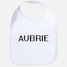 Aubrie Digital Name Bib