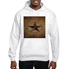 burlap western texas star Jumper Hoody