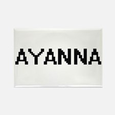 Ayanna Digital Name Magnets