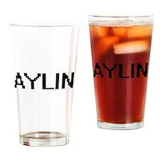 Aylin Digital Name Drinking Glass
