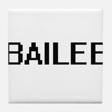 Bailee Digital Name Tile Coaster