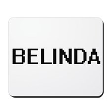 Belinda Digital Name Mousepad