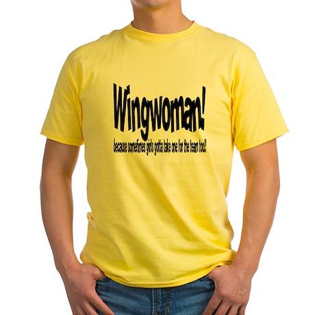 Wingwoman Yellow T-Shirt