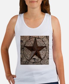rustic texas lone star Tank Top