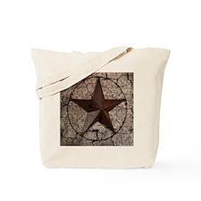 rustic texas lone star Tote Bag