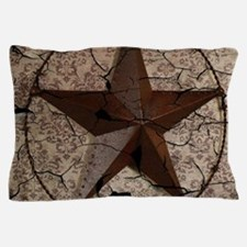 rustic texas lone star Pillow Case