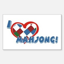 Mahjong Rectangle Decal