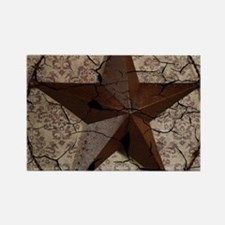 rustic texas lone star Magnets