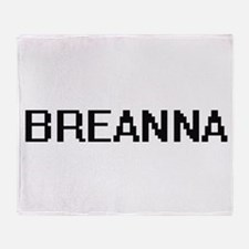 Breanna Digital Name Throw Blanket
