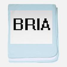 Bria Digital Name baby blanket