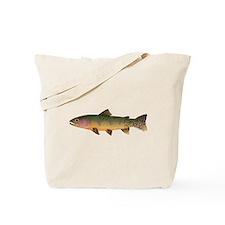 Cutthroat Trout stream Tote Bag