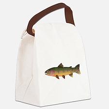 Cutthroat Trout stream Canvas Lunch Bag
