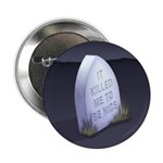 "Be Nice 2.25"" Button (100 pack)"
