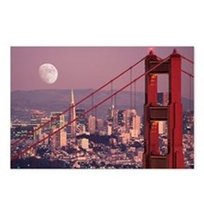 Moon Over The Gate Postcards (Package of 8)