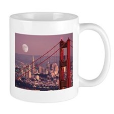 Moon Over The Gate Mug