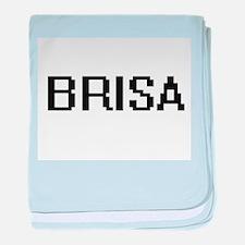 Brisa Digital Name baby blanket