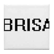 Brisa Digital Name Tile Coaster