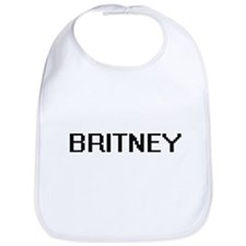 Britney Digital Name Bib