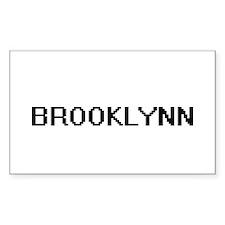 Brooklynn Digital Name Decal