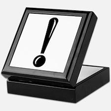 Exclamation Point Keepsake Box