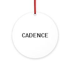 Cadence Digital Name Ornament (Round)