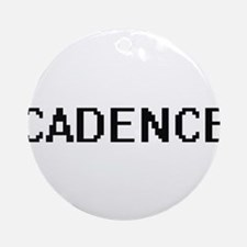 Cadence Digital Name Ornament (Round)
