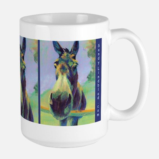 Hee Haw Donkey, Large Mugs