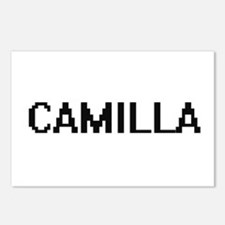 Camilla Digital Name Postcards (Package of 8)
