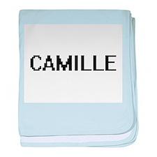 Camille Digital Name baby blanket